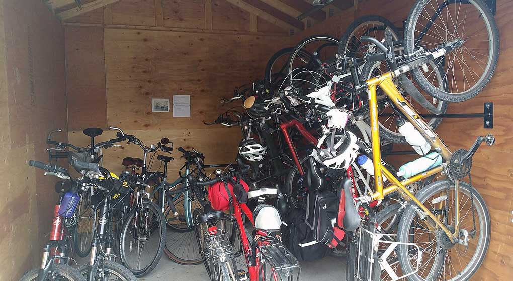 Your bicycles have a room of their own